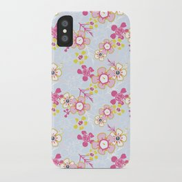 Sunkissed Pale Blue iPhone Case