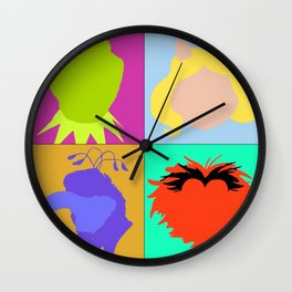 Core Four Wall Clock