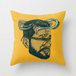 El Perroflauta (not) Throw Pillow