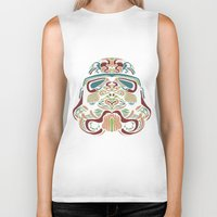 ethnic Biker Tanks featuring Ethnic Troopers by trevacristina