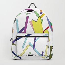 face and block Backpack