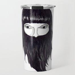 femme à barbe Travel Mug