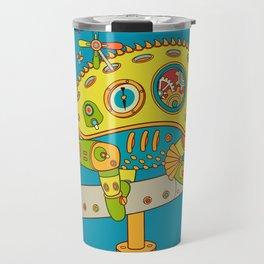 Chameleon, cool wall art for kids and adults alike Travel Mug