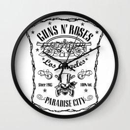 Guns N' Roses Paradise City Wall Clock