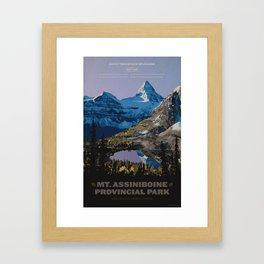 Mt. Assiniboine Provincial Park Framed Art Print