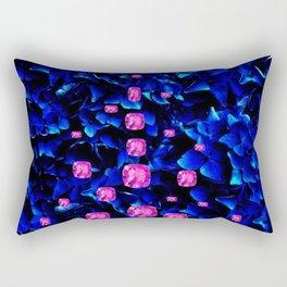 SEPTEMBER PINK SAPPHIRE GEM BIRTHSTONE Rectangular Pillow