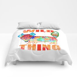 Wild thing - fox Comforters
