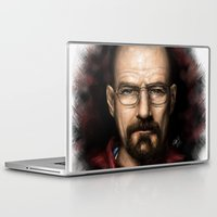 walter white Laptop & iPad Skins featuring Walter White by NikkiBeth