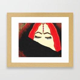 Hidden India Framed Art Print