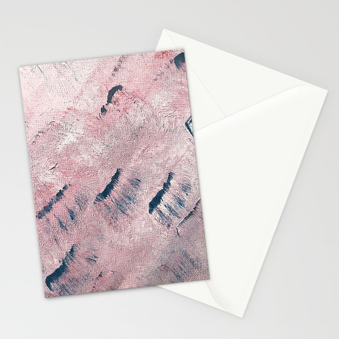 sunset waves Stationery Cards
