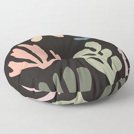 Seagrass - twilight Floor Pillow