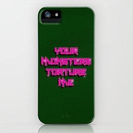 Chromatica torture me iPhone Case