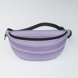 Pantone Purple Stripe Design Fanny Pack