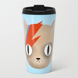 David Meowy Cat Travel Mug