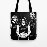 sith Tote Bags featuring Miami Sith by Carlos Arteaga