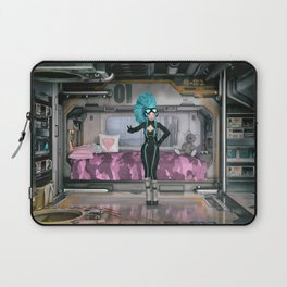 Downtime in the Barracks Laptop Sleeve