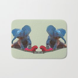 animals in chairs #25 The Elephant Bath Mat