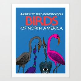 Field Guide Art Print
