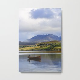 Loch Harport and the Cuillins Metal Print