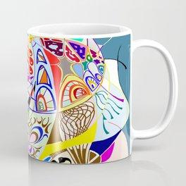Filanes-45 couleur fond bleu Coffee Mug