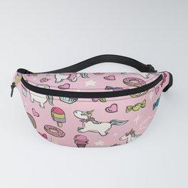 Pink Unicorns & Sweet Daydreams Fanny Pack