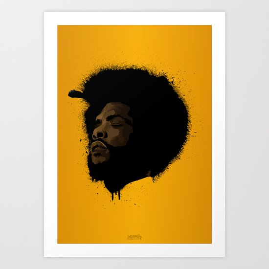 Questlove 2.0 Art Print