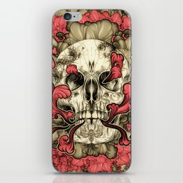 Tattooed Skull iPhone Skin