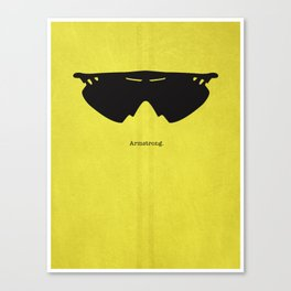 Armstrong Spectacles Canvas Print