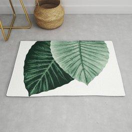 Love Leaves Evergreen - Him & Her #2 #decor #art #society6 Rug