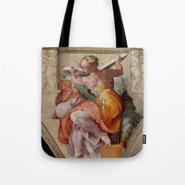 "Michelangelo ""The Libyan Sibyl"" Tote Bag"