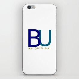 BU An Original (dark) iPhone Skin