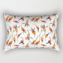 Rose Hips Rectangular Pillow