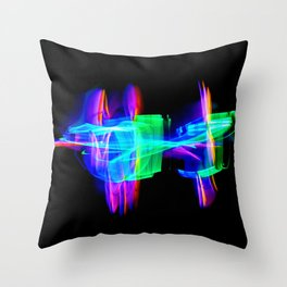 RAINBOW GLOW Throw Pillow
