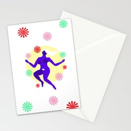 The dancer II Stationery Cards
