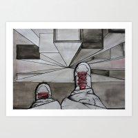 Drop Art Print