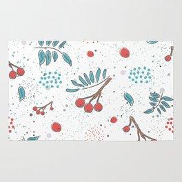 Christmas Berries Rug