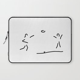 frisbee player Laptop Sleeve