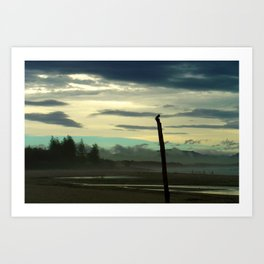 The Mists of Byron Bay Art Print