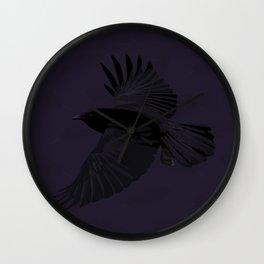 Reginald Corvus Wall Clock