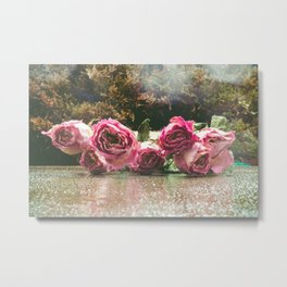 Rose Water Metal Print
