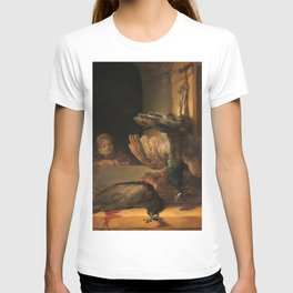 Rembrandt - Still Life with Peacocks T-shirt