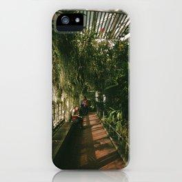 Over Grown Hallway iPhone Case