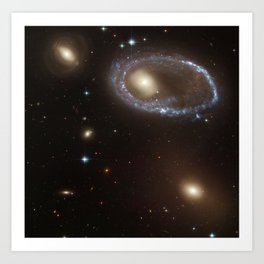 Ring Galaxy AM 0644-741 Art Print