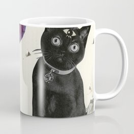 Ask the Cat Coffee Mug