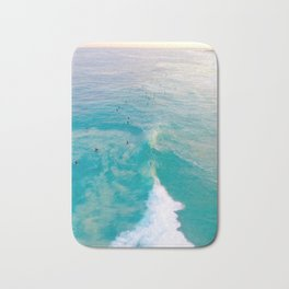 Sunrise Surfers Bath Mat