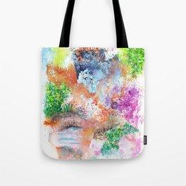 Magical Landscape Art Illustration Tote Bag