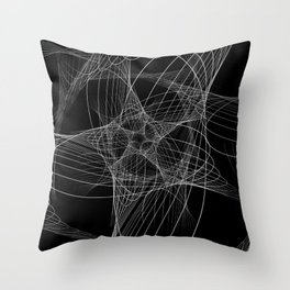 Galactic Star Throw Pillow