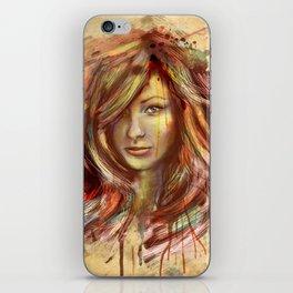 Olivia Wilde Digital Painting Portrait iPhone Skin