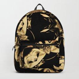 Golden Rosette Backpack