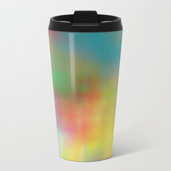 Abstract 102 Metal Travel Mug